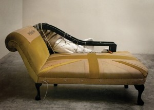 Soldier and Swan chaise