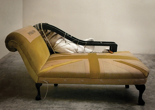 Soldier and Swan chaise : swan chaise - Sectionals, Sofas & Couches