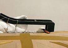 Swan Chaise detail