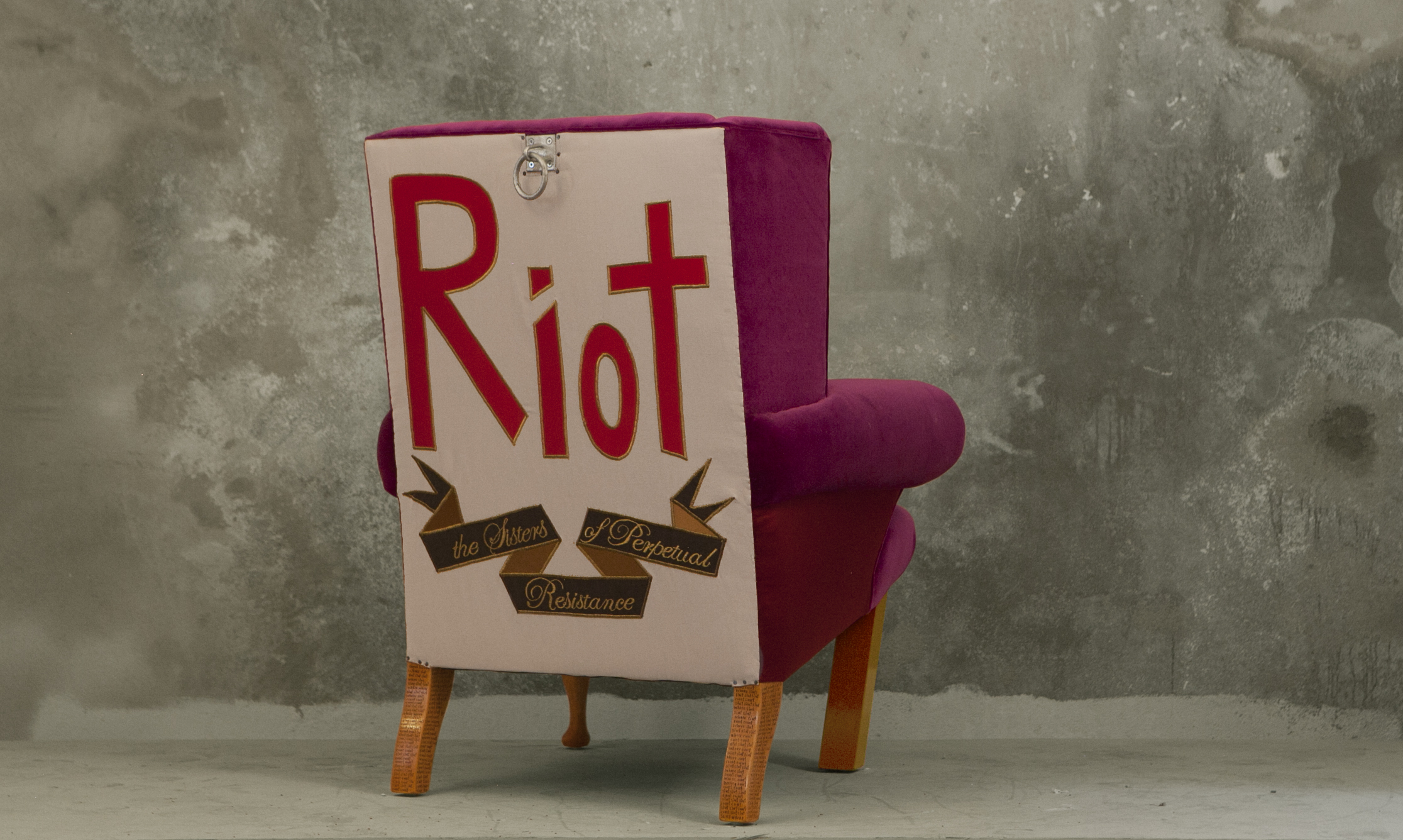 purple back