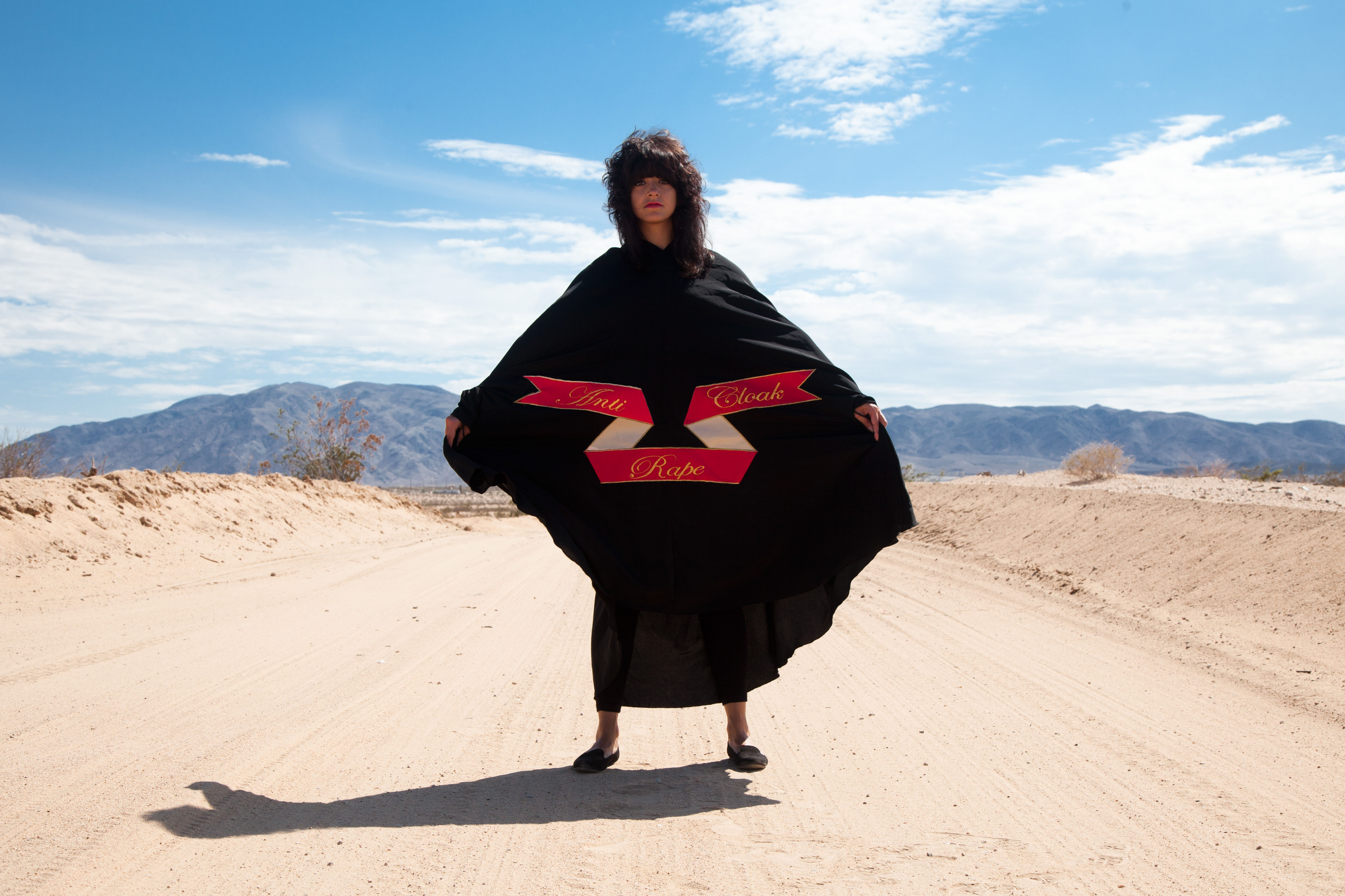 Sarah Maple Mojave Anti Rape Cloak