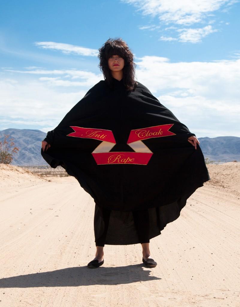 Sarah Maple Mojave Desert Anti Rape Cloak
