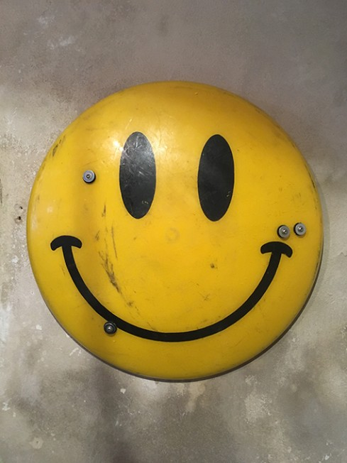 Jimmy Cauty Smiley Riot Shield SRS17