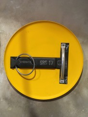 Jimmy Cauty Smiley Riot Shield SRS17 back