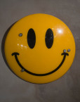 Jimmy Cauty Smiley Riot Shield front