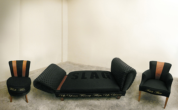 3 Piece Sweet chairs and chaise