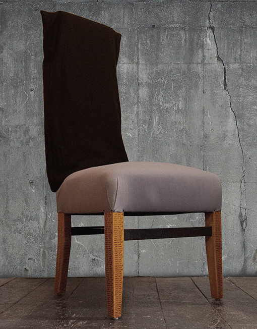 CHAIR WHITE with hood