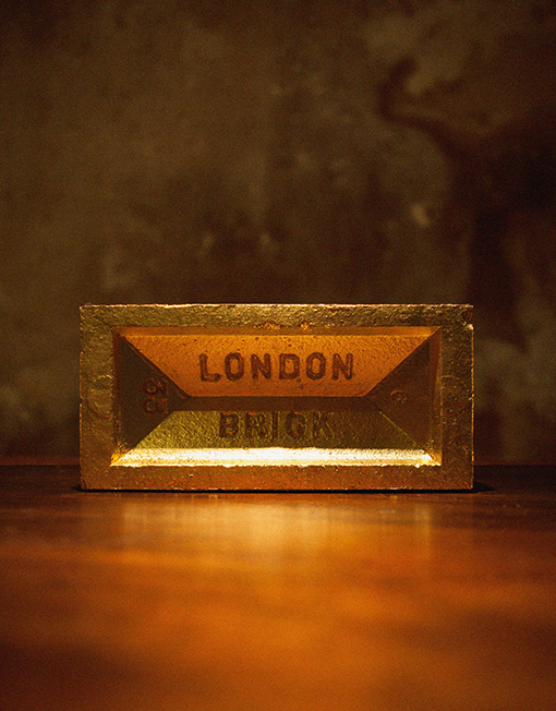 London BRICK ( for throwing )