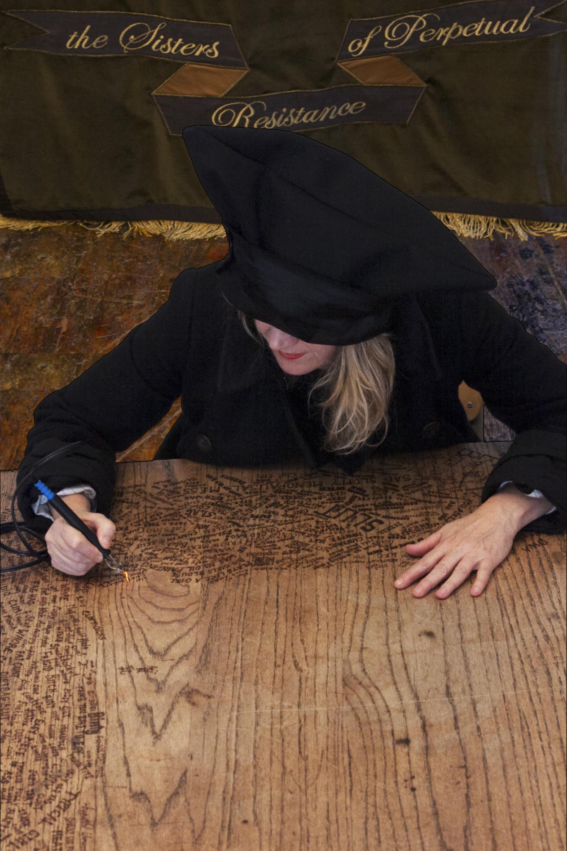 Miss Pokeno table-writing