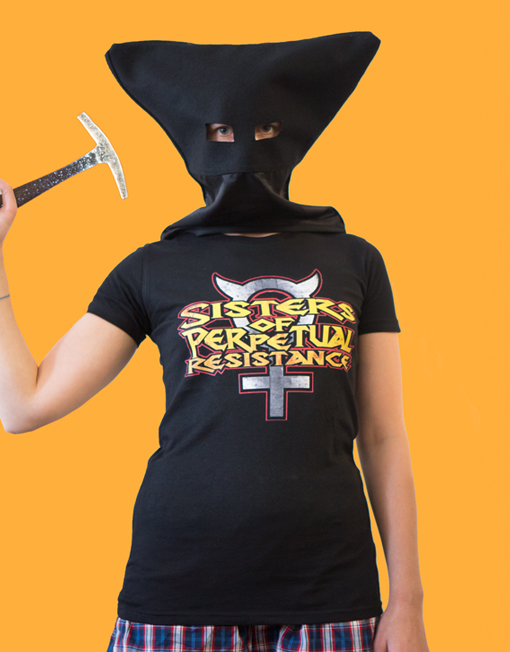 Sisters of Perpetual Resistance Metal T shirt